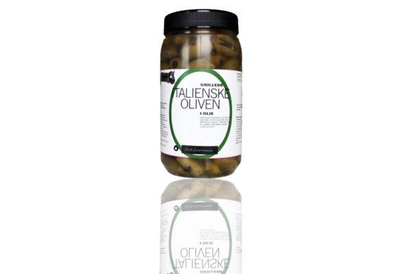 Grillede oliven