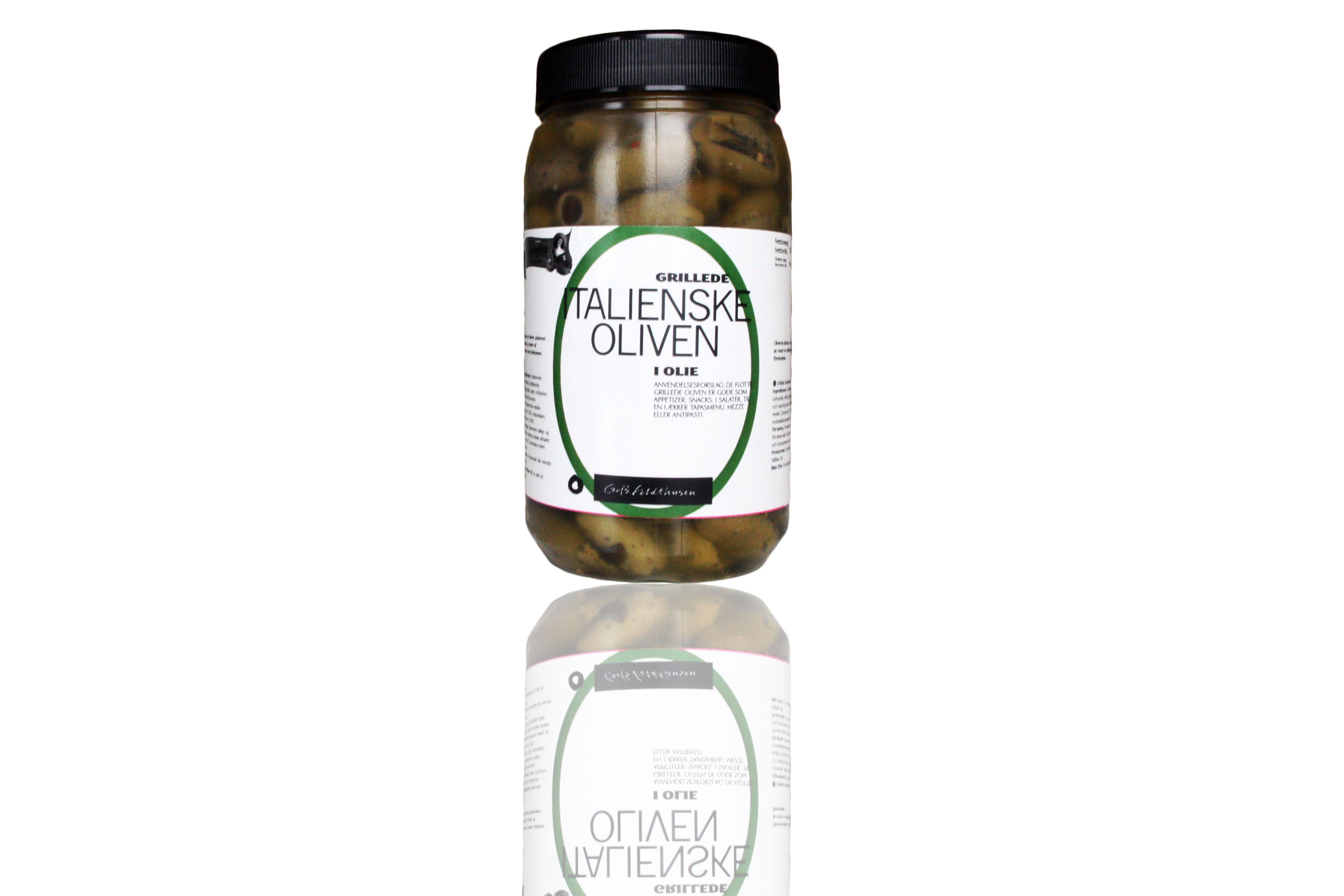 antipasti grillede oliven