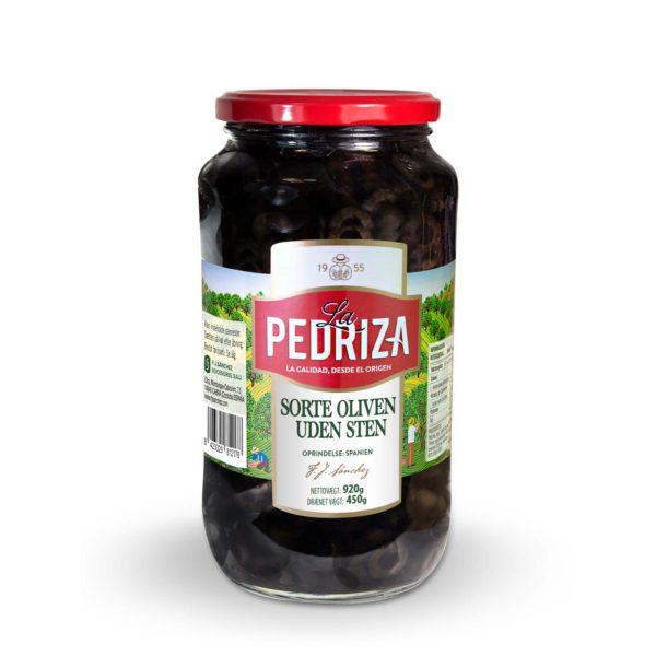 Sorte oliven uden sten