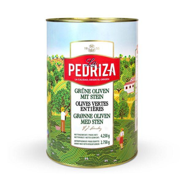Hele grønne oliven