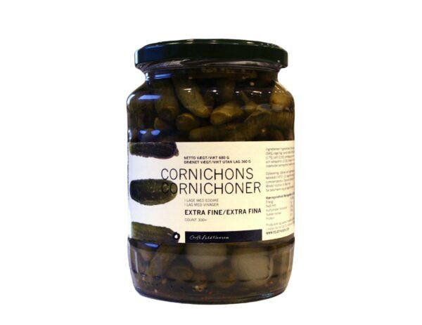 Cornichoner ekstra fine, count +300