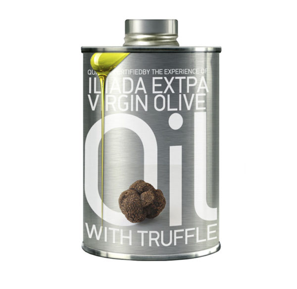 Ekstra jomfru olivenolie med trøffel