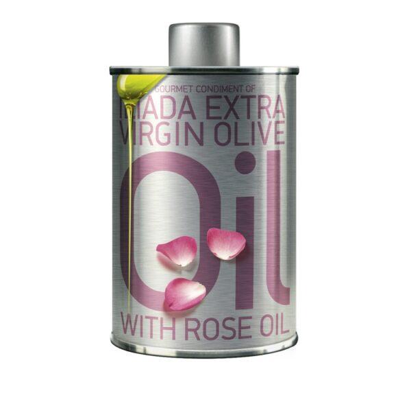 Ekstra jomfru olivenolie med rose