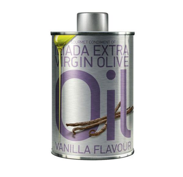 Ekstra jomfru olivenolie med vanilje