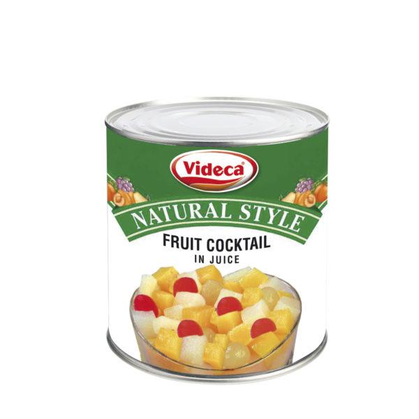 Frugtcocktail i juice