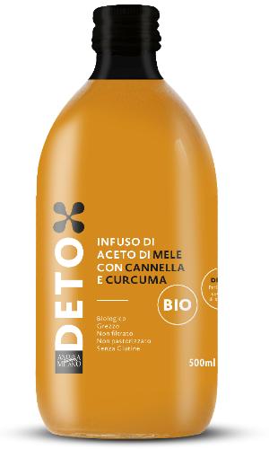 Økologisk ufiltreret æblecidereddike m. kanel & gurkemeje