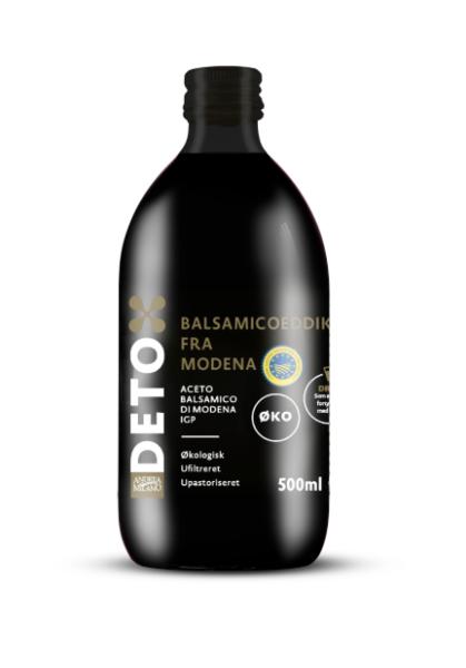 Økologisk ufiltreret balsamicoeddike