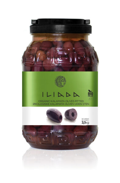Økologiske Kalamata oliven u/sten